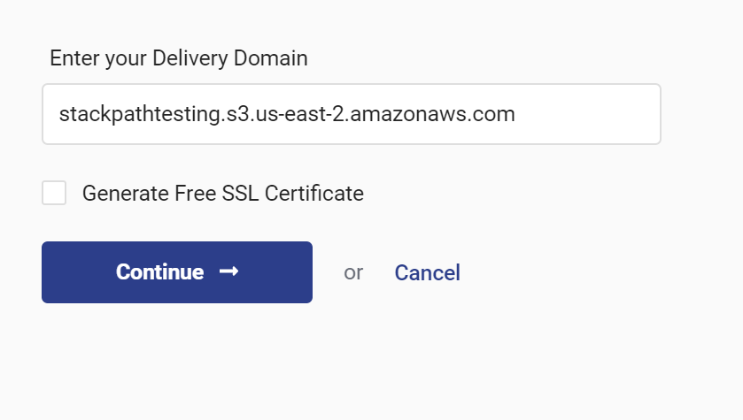 Using Amazon S3 as a Site Origin – StackPath Help Center