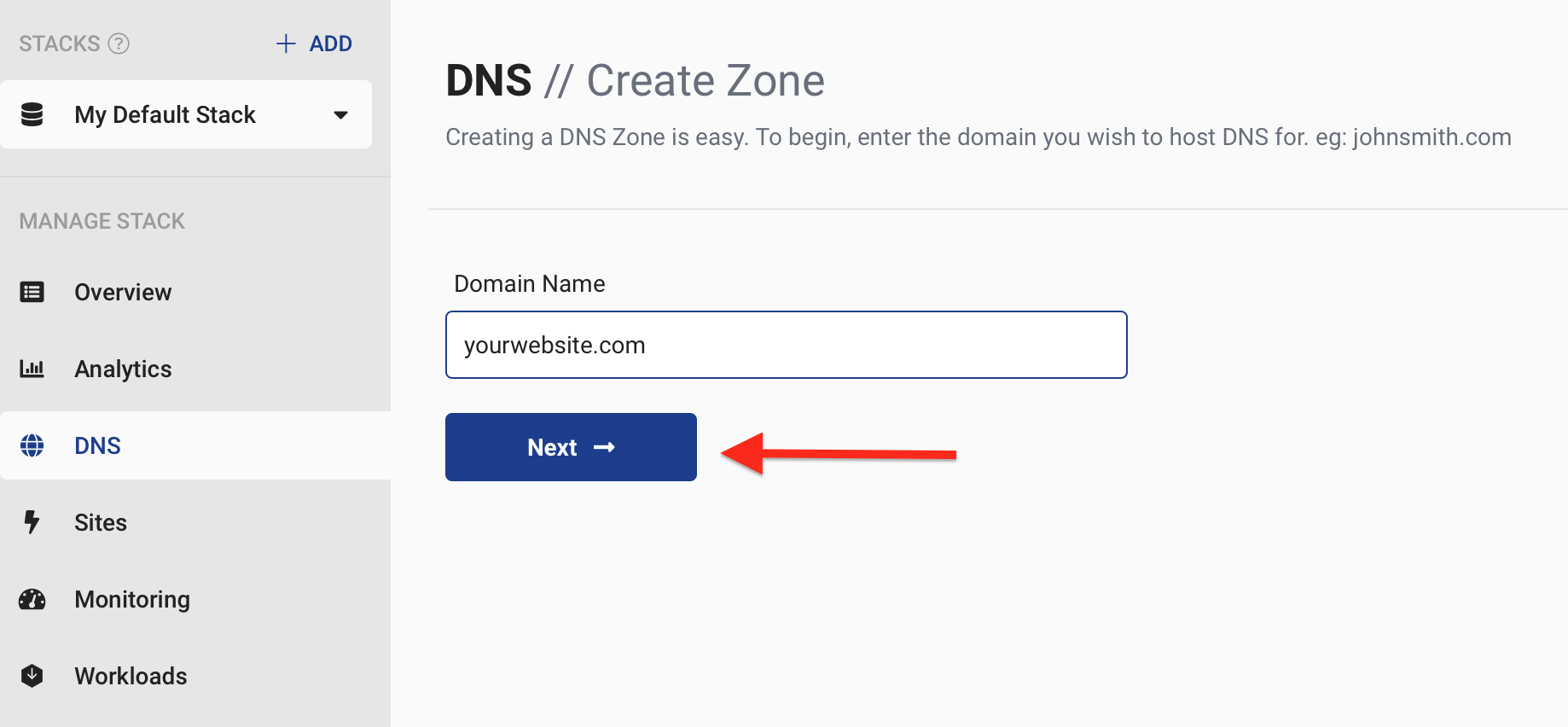 Setting up StackPath DNS – StackPath Help Center