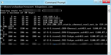 Windows 8 command prompt